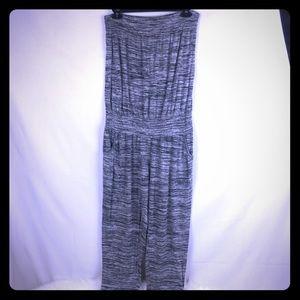 American Rag Grey Jumpsuit Size Large